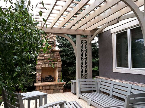 Cantilevered Pergola By Trellis Structures