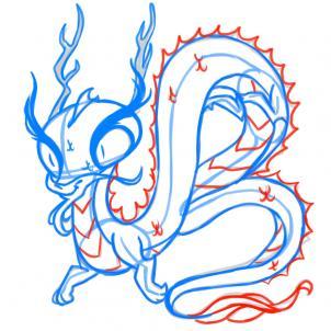 Kak Narisovat Kitaysskogo Drakona1595