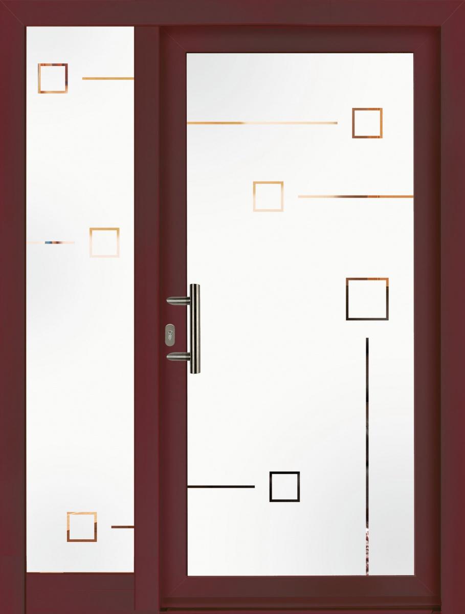 Portes D Entr 233 E Mod 232 Les Panneaux En Verre Trendel
