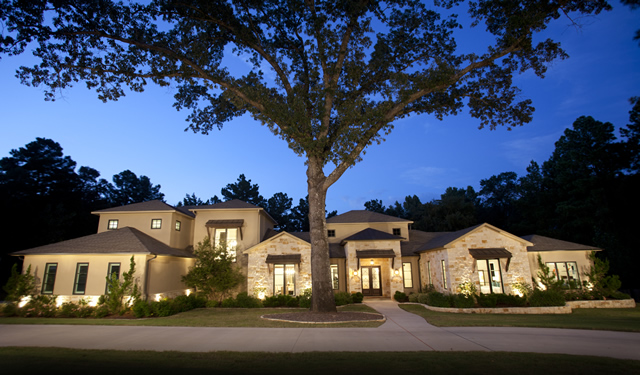 Texas Plans Country House