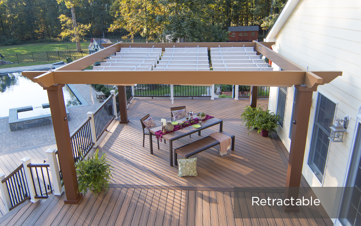 Design Like Never Before Low Maintenance Pergola Kits