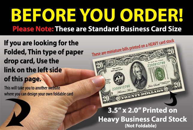 Dollar Card 100 Business