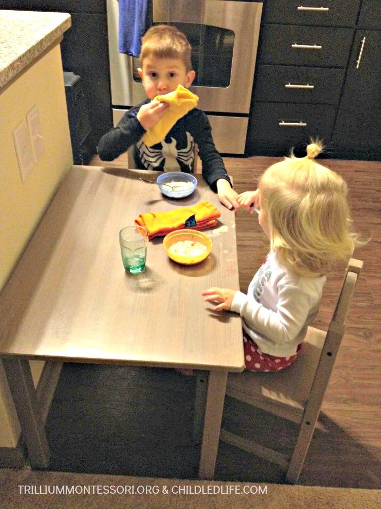 Small Space Montessori Setup Kitchen And Wrap Up