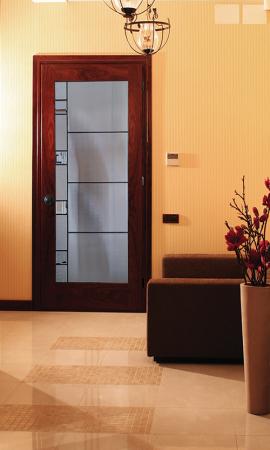 Trimlite Decorative Door Glass French Doors Wood Entry