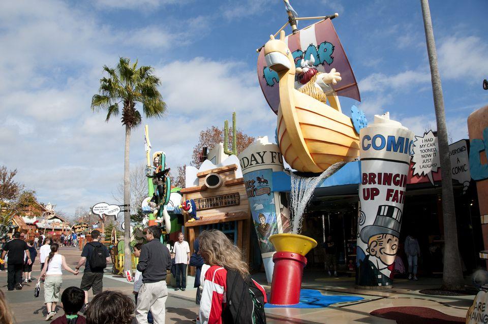 Universal Rides Adventure Island