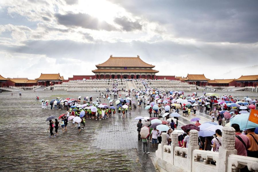 April in China  Weather and Event Guide Forbidden City  Beijing China