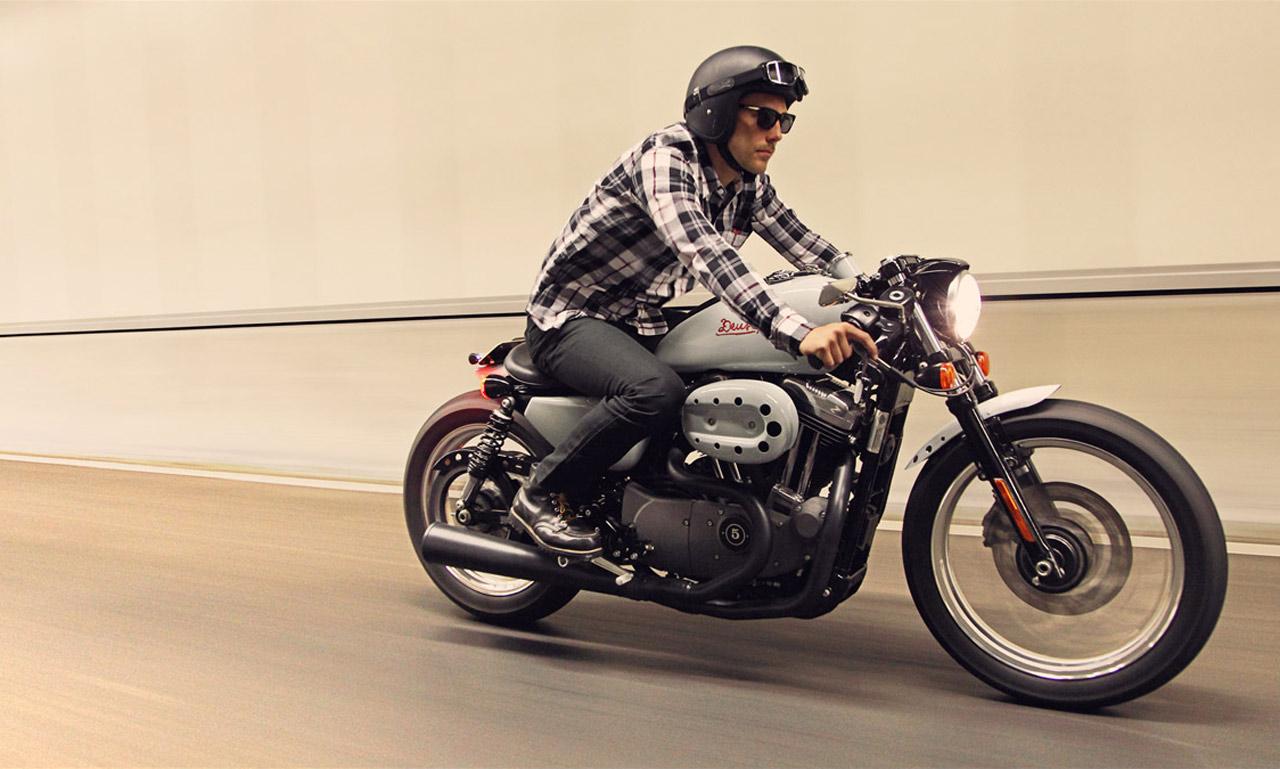 Harley Davidson Sportster Cafe Racer Amp Flattracker