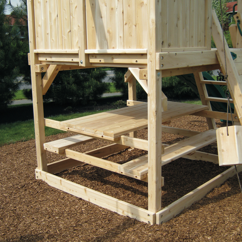 Play Set Options Wooden Add Ons Triumph Play Systems