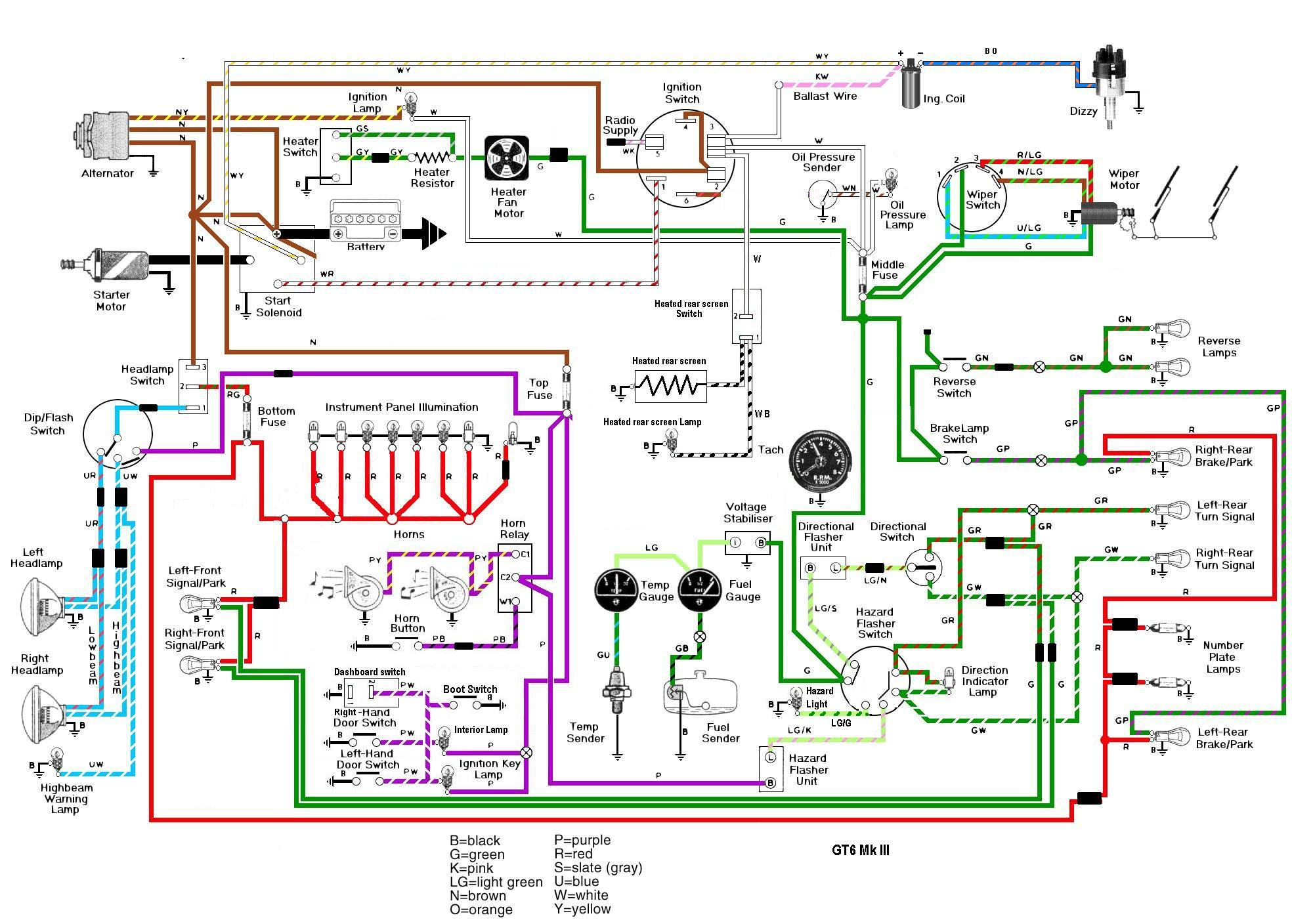 6 Volt Wiper Motor Conversion 6v Vw Wiring Diagram