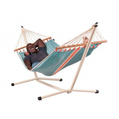 Stand and double hammock NEPTUNO