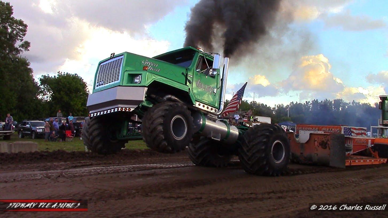 Tractor Truck Pulls 2016 Kent City Mi Mttp