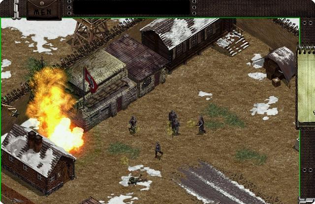 commandos derriere les lignes ennemies pc