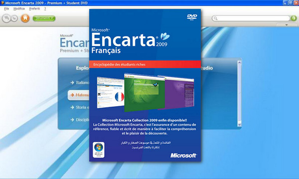 gratuitement microsoft encarta collection 2009 français