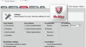 Mcafee Stinger 12.1.0.2 Portable