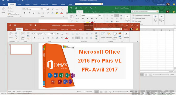 office 2016 pro french .iso