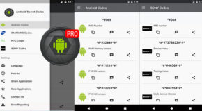 Android Secret Codes Pro v3.2.4