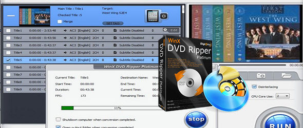 WinX DVD Ripper Platinum 8.6.0.207 Build 17.10