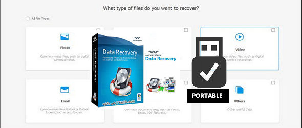 Wondershare Data Recovery 6.6.0.21 + Portable