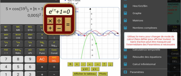 Calculatrice Scientifique + v4.1.8 (TechCalc)