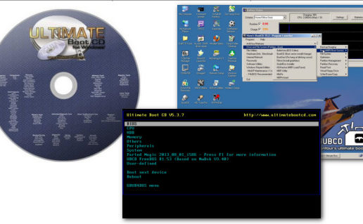 Ultimate Boot CD 5.3.8