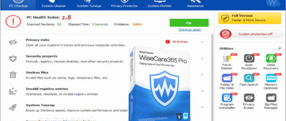 Wise Care 365 Pro 4.84 Build 466