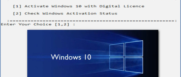 Windows 10 Digital Licence Generator 2.0