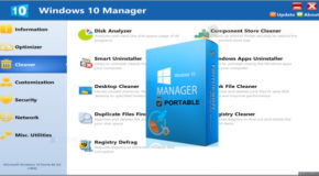 Windows 10 Manager 3.0.1 Portable