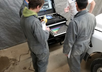 Training 3D Laser frame measuring