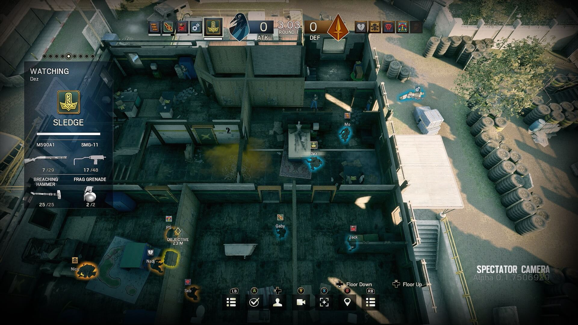 Rainbow Six Siege Introduces Spectator Cam Tactical View