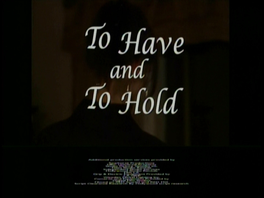 To Have and to Hold (TV Movie 2006) Justine Bateman ...