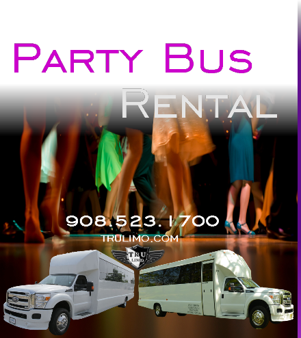 Party Bus Rental Services WOODCLIFF LAKE NJ PARTY BUSES