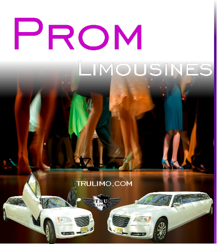 Prom Limousines for Rent WOODCLIFF LAKE NEW JERSEY PROM LIMOUSINES