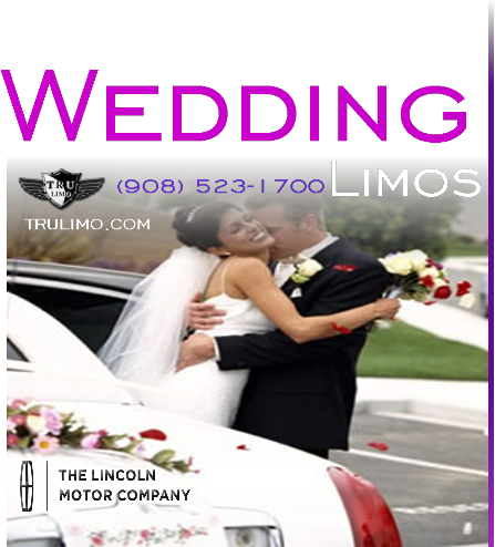 Wedding Limousines for Rent EDGEWATER NEW JERSEY WEDDING LIMOUSINES