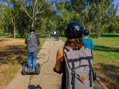 Segway tour in Tel Aviv – Light tour in the Yarkon park, including less known locations