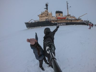 Unforgettable experience on an Icebreaker cruise in Kemi Lapland, Finland