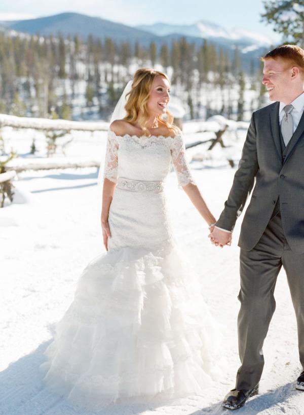 Wonderland Wedding Winter Dresses