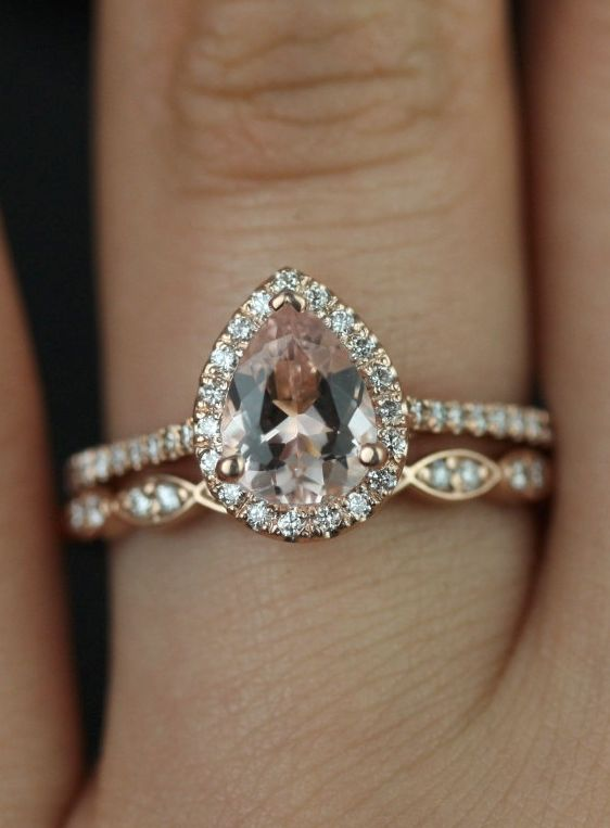 15 Stunning Rose Gold Wedding Engagement Rings That Melt Your Heart Tulle Amp Chantilly Wedding Blog