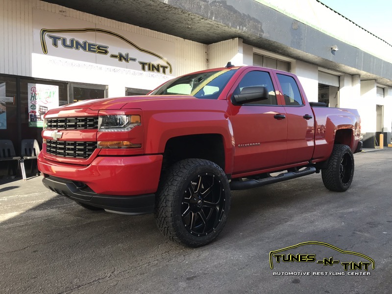 2017 Chevrolet Silverado Accessories Upgrades Tunes N Tint