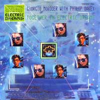 Philip Oakey Giorgio Moroder Together in Electric Dreams Single Cover