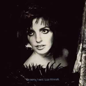 Liza Minnelli So Sorry I Said Single Cover