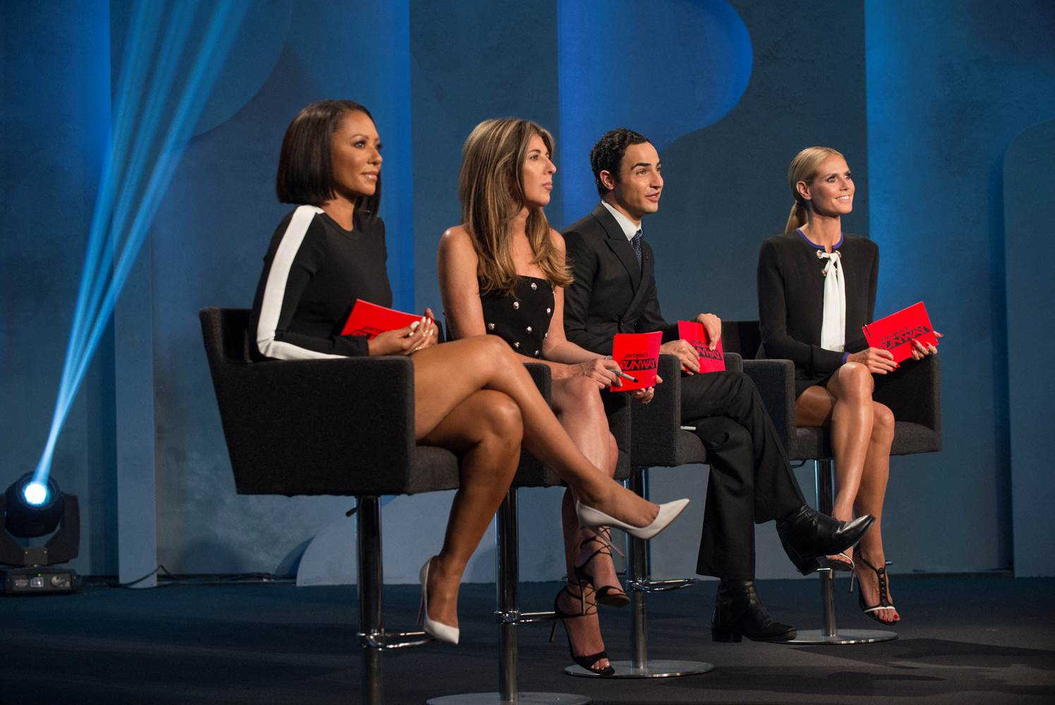 Mel B  Gets Critical as a Guest Judge on Project Runway  VIDEO      TV     Mel B  Gets Critical as a Guest Judge on Project Runway  VIDEO