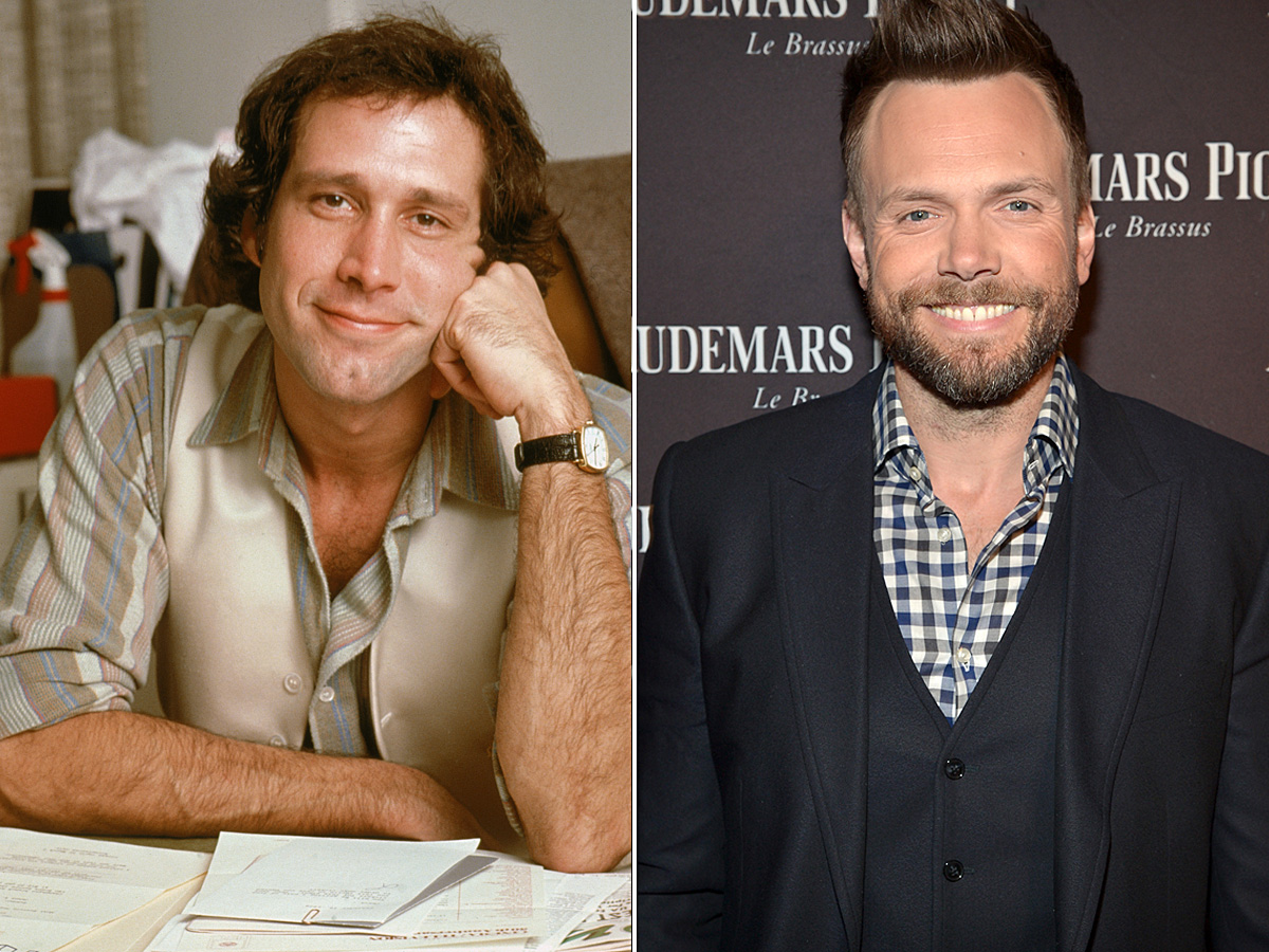 Why Joel McHale is the Perfect Guy to Play Chevy Chase in the     Why Joel McHale is the Perfect Guy to Play Chevy Chase in the Netflix  National Lampoon Movie