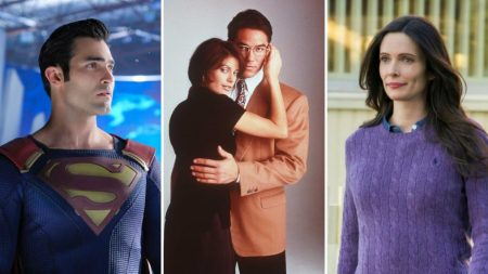 all the actors who played superman lois lane on tv photos tv insider