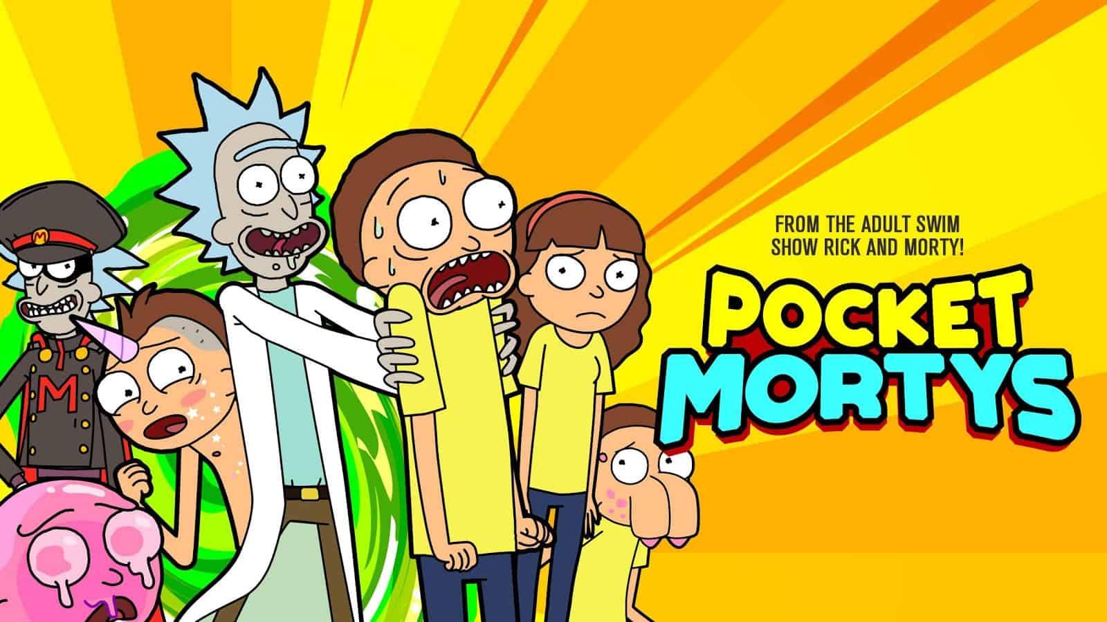 101 Pocket Mortys Mortys All