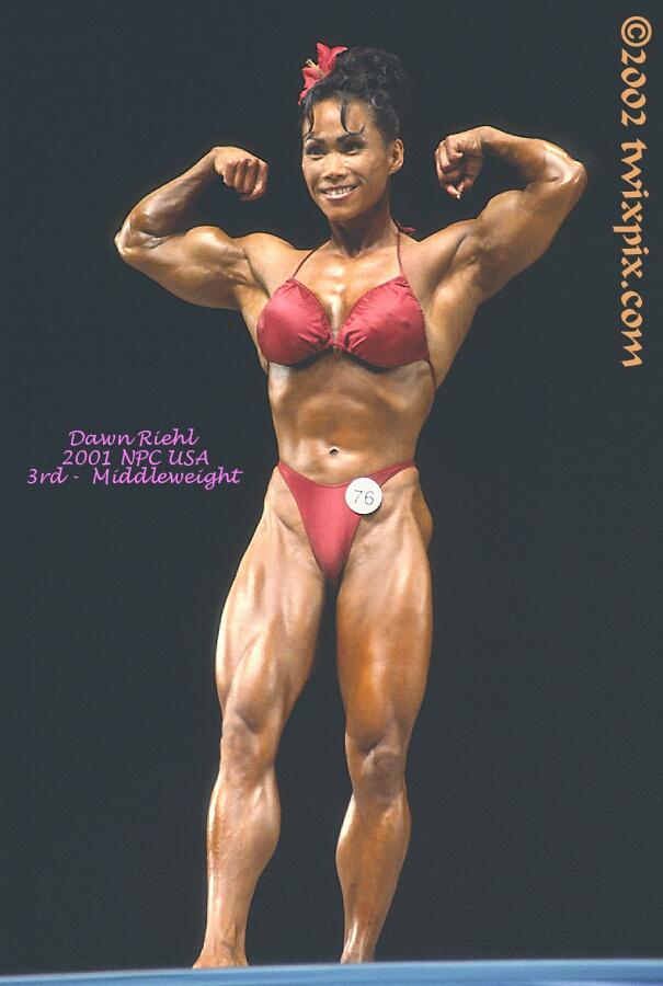 2001 NPC USA Bodybuilding & Fitness - Dawn Riehl