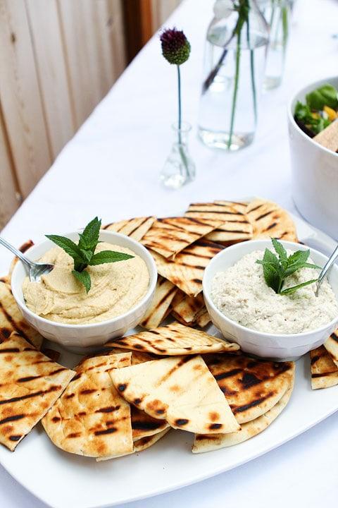 Greek Food Menu Dinner Party