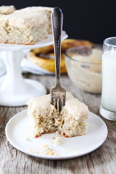 Banana Butter Cake Recipe