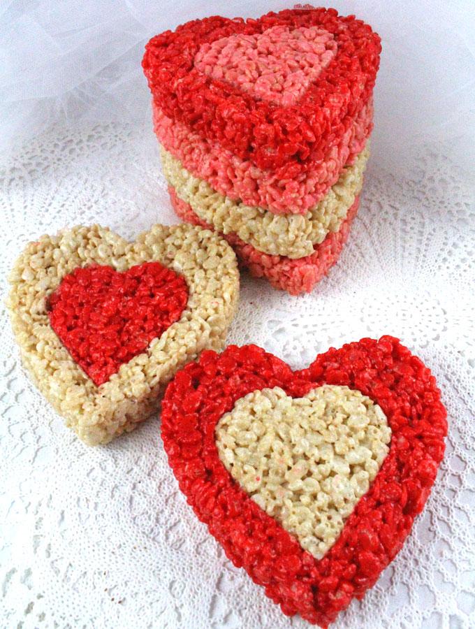 Valentines Day Rice Krispie Treats