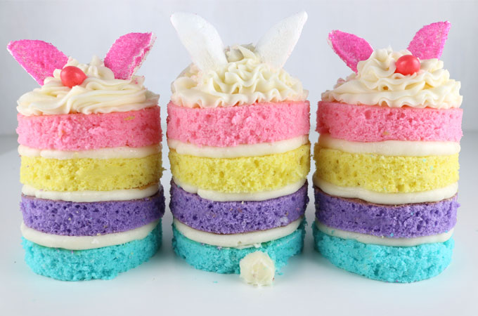 Individual Easter Cakes
