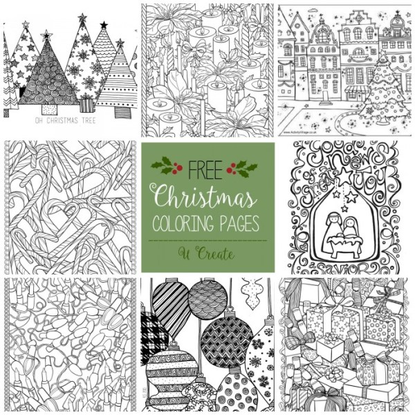 coloring christmas pages # 37